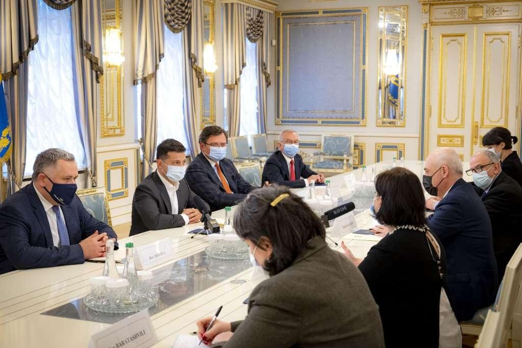 Президент зустрівся з віце-прем'єр-міністром, главою МЗС Грузії