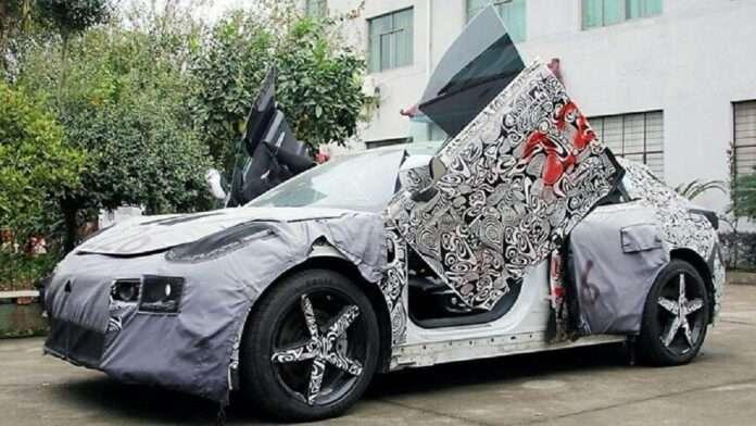 Geely випустить спорткар з дверима як у Lamborghini