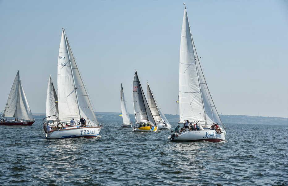 За Кубок Запорізької АЕС змагалися яхтсмени з різних міст та регіонів України