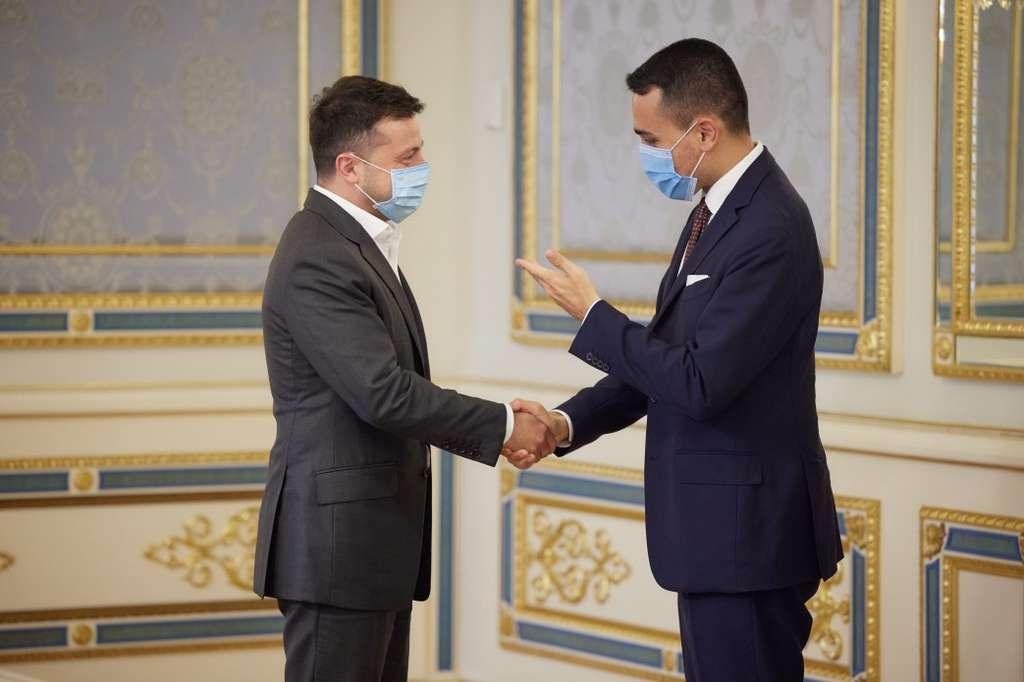Володимир Зеленський зустрівся з головою МЗС Італії