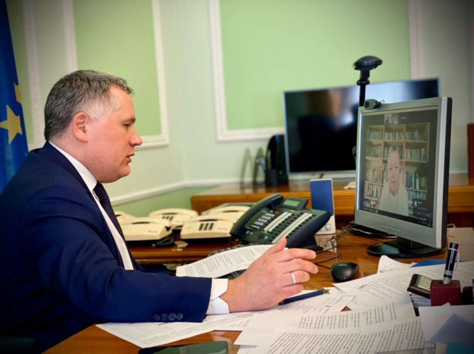 Ігор Жовква обговорив із заступником держсекретаря офісу Прем'єр-міністра Ірландії питання європейської перспективи України