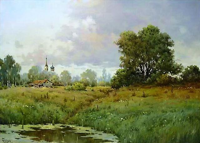 Болото. Автор Николай Луговенко.