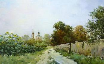 Подсолнухи. Автор Николай Луговенко.