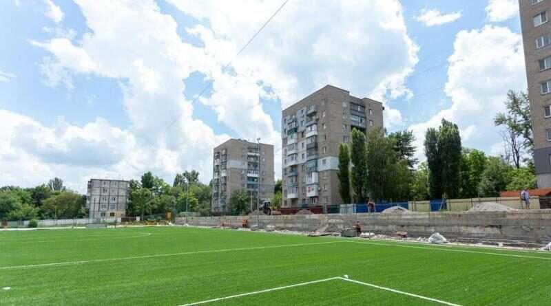На Дніпропетровщині будують три багатофункціональні стадіони (фото)