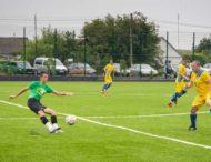 На Днепропетровщине построенный «с нуля» стадион открыли футбольным матчем