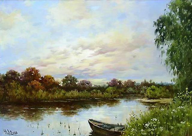 Залив. Автор Николай Луговенко.