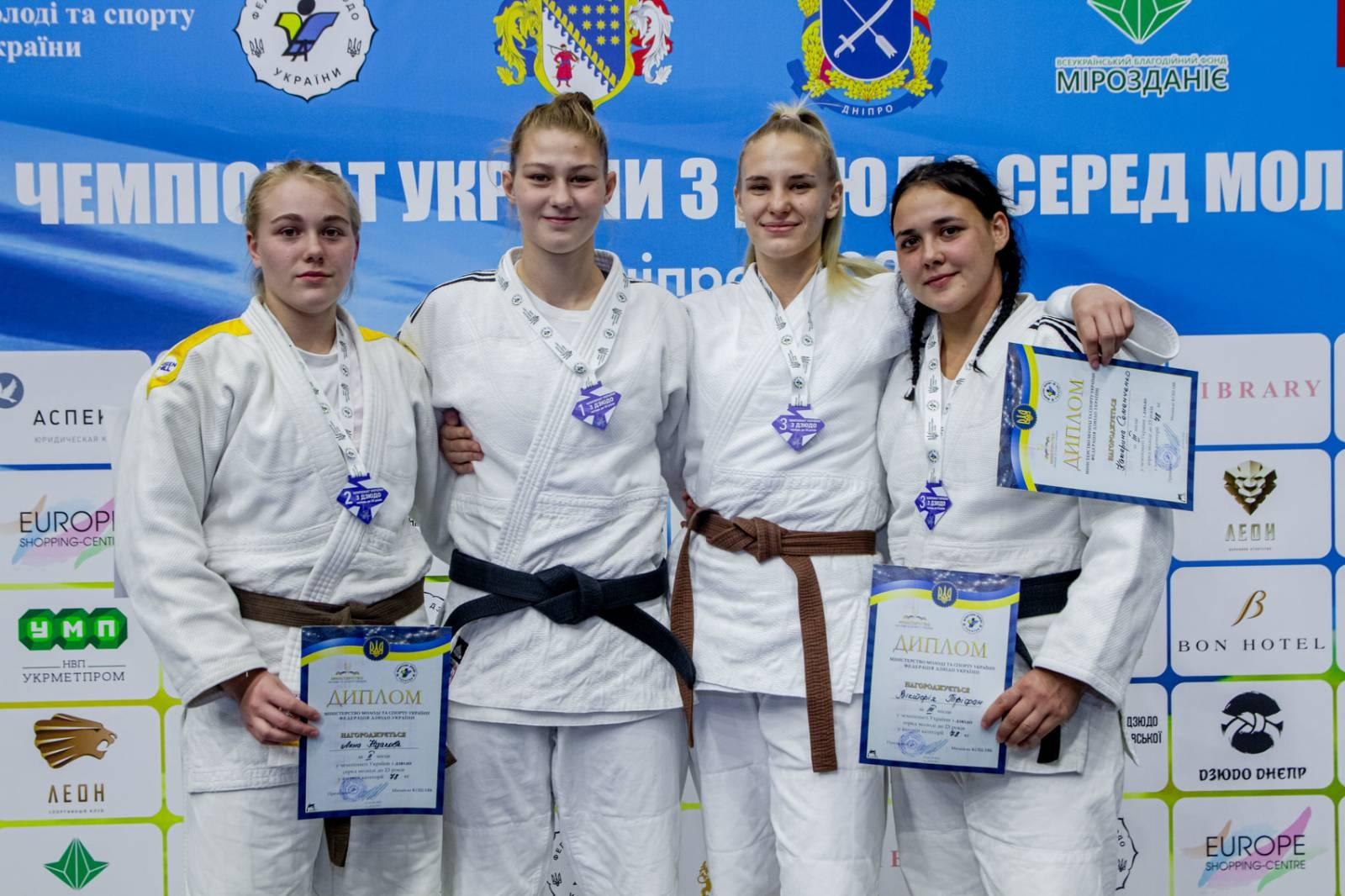 Покровчани стали призерами двох чемпіонатів із дзюдо