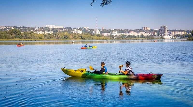 На Днепропетровщине активно открываются парки и ЦНАПы