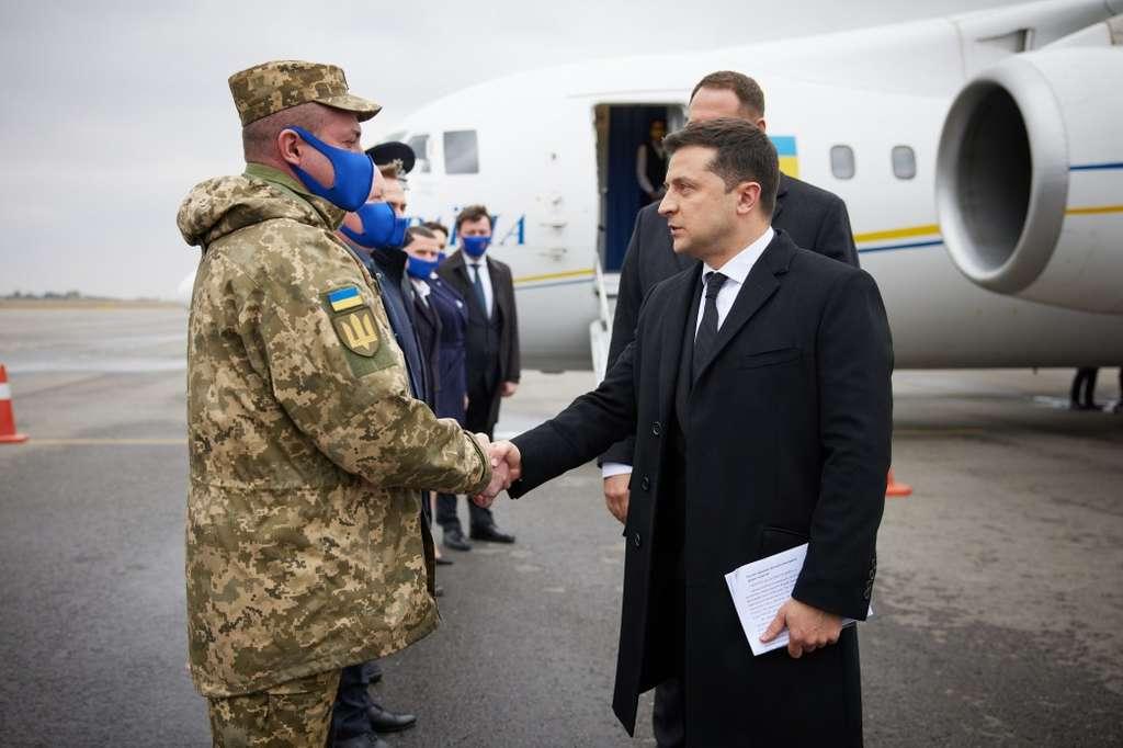 Глава держави прибув з робочою поїздкою до Запорізької області