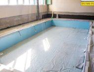 В Днепропетровской области завершают строительство бассейна (фото)