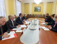 Роман Машовець обговорив з британським послом питання підготовки візиту Президента України до Великої Британії